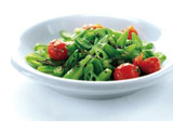 Runner bean salad